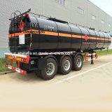 Almacenamiento de calefacción Truc semi remolque del depósito de betún de asfalto