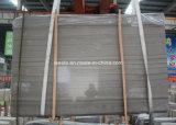 자연적인 돌담 클래딩 Athen 나무로 되는 회색 대리석 도와