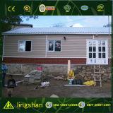 Casa modular de las caravanas de la casa de la casa de la estructura