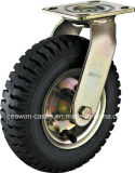 Serie pneumatica della rotella girevole - rotella girevole di gomma
