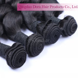 100%のブラジルの人間の毛髪は2017競争の編む毛のスタイルを作る