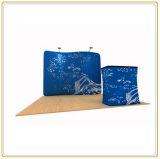 10 FT Serpentine Toile de fond du châssis de tissu Affichage/Afficher