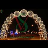 Neues Weihnachtslicht des Motiv-Licht-Bogen-Licht-LED