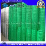 Rete metallica saldata galvanizzata ricoperta PVC per costruzione