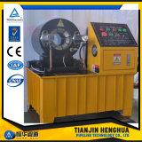 Sertissage du flexible hydraulique de la machine pour l'amortisseur de ressort de suspension de l'air