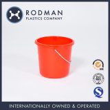 Baldes plásticos do HDPE pequeno da limpeza do agregado familiar do Rodman 4.5L para a venda