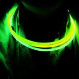 22.8 '' Individual Foilbag Tri colorea el collar plástico del resplandor