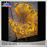 Dekoration-Weihnachtsbuntes Zeichenkette-Solarlicht der China-Fabrik-LED angeschaltenes