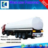 3つの車軸アルミ合金のディーゼルかガソリンまたはガソリンまたは原の油または燃料のタンカー