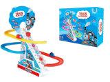 Rail Train Set brinquedo de plástico escalar Stair brinquedo de brinquedo de brinquedo animal (H9200075)