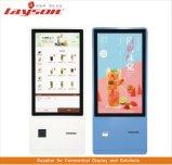 OEM de Vloer die van 17 Duim LCD Signage van de Vertoning de Digitale Kiosk van de Betaling van de Bankkaart van de Rekening van de Zelfbediening van de Kiosk van de Informatie van het Scherm van de Aanraking van de Reclame Interactieve bevindt zich