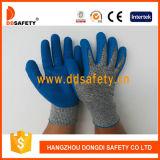 Ddsafetyやしで塗られる乳液が付いている2017年の反切口の高性能の安全手袋