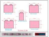 유연한 전기 패드 공업용 세라믹 전기 패드