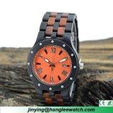 Wristwatch высокого качества вахты Paorosa чёрного дерева вахты людей OEM