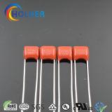 Polyester-Kondensator mit Niederspannung für Gerätebeleuchtung RoHS Reichweite