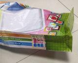 Saco tecido PP da alta qualidade com parte inferior lisa para a farinha ou o alimento animal