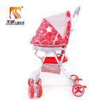 Voiture d'enfant en plastique de couleur rouge pour le bébé