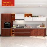 Gabinetes de cozinha customizáveis do estilo linear moderno