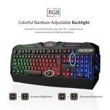 Мы план дышая клавиатурой СИД светлой Gamer эргономической (KB-1902EL)