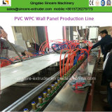 Kurbelgehäuse-Belüftungintegrierter Wallboard-dekorative Wand-Strangpresßling-Zeile