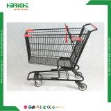 Chariot à magasins hypermarché avec siège pour bébé