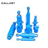 Cilindro hidráulico de efeito duplo para o descarregador/Tipper/veículo do saneamento