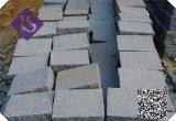 Pietra per lastricati G603 del cubo bianco grigio-chiaro del granito fiammeggiata