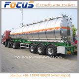 Nadruk-40kl de Semi Aanhangwagen van de Tanker van de Stookolie van het Aluminium van de Fabrikant van China