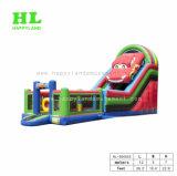 Auto-estrada de carro de corrida no slide insufláveis centro de jogos