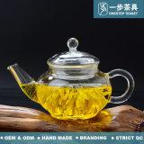 Vidro Boroslicate bule de chá com Infuser e filtro