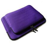 Знаменитые фиолетовый рельефным столбов дизайн неопреновый чехол сумка для ноутбука (FRT1-41)