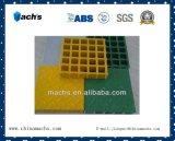Plástico reforçado com fibra de vidro moldado com Grit-Top ralar/Antiderrapante/retardante de incêndio