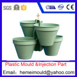 Molde do recipiente plástico, molde plástico