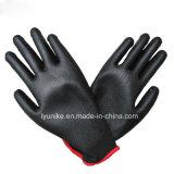 13G нейлон трикотажные нитриловые защитные с покрытием руки перчатками