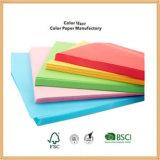 Luz de finos de fábrica/Deep Colour coloridos de papel 60g 70g 80g