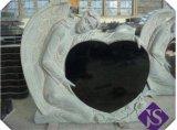 Uw Ontwerp stemde in met de Zwarte Grafsteen van het Monument van de Grafsteen van het Graniet Ernstige