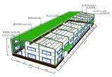 Amplia gama Pre-Engineered Almacén de la estructura de acero