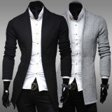 Neue Entwurfs-Form gestrickte Wolljacke-Strickjacke für Mann-Großverkauf