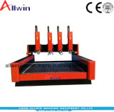 4 incisione delle teste 1318 3D che intaglia la macchina per incidere di pietra del router di CNC