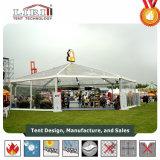 Tente ronde de 200 personnes pour des usagers et des mariages
