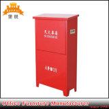 화재 Extinguisher와 Fire Hose Reel Box Metal Door Fire Cabinet