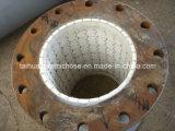 Tubulação cerâmica do tipo de Daika com resistência de desgaste elevada, resistência quente da temperatura