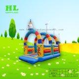 子供のための多彩なクレヨンの快適で、安全な小型膨脹可能な跳躍の警備員