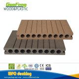 木製のプラスチック合成のフロアーリング、試供品のプラスチック合成の空WPCのDecking