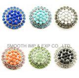 Diamantes de Imitación de la moda de diamantes de aleación de Noosa Botón Snap prenda joyas Accesorios
