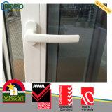 Schiebendes Fenster der Doppelverglasung-UPVC mit Australien-Standard