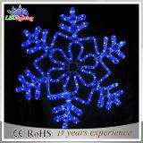 Lumière extérieure de flocon de neige de décoration de Noël de la rue DEL de jardin