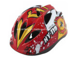 Carton Design Bicycle Kids Helmet (VHM-027)