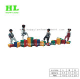 Le jeu mou de jardin d'enfants joue le terrain de jeux d'intérieur pour des gosses
