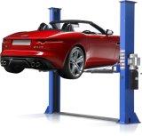 AutoHijstoestel van uitstekende kwaliteit Twee van de Kolom van de Plaat van de Vloer Dubbel de PostLift van de Auto